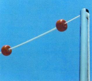 Комплект стоек указателя фальстарта д. 43 мм (2 шт.) до 21 м (19950)