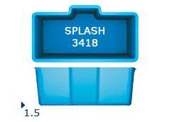 Splash 3418