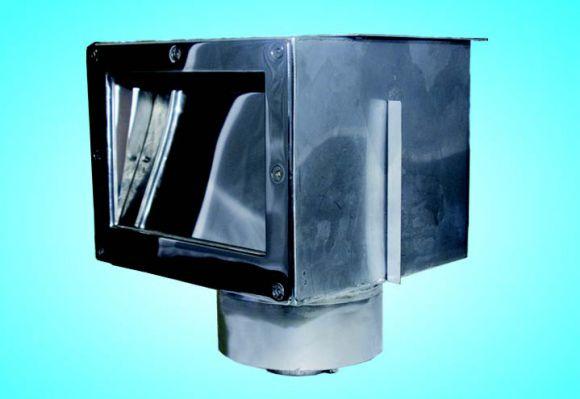 Скиммер из нерж. стали (универсал) A.S-1 с переливом  М.S1.1