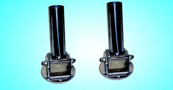 Адаптер откидной для установки лестниц (87100980) (компл. 2 шт.)., нержавеющая сталь