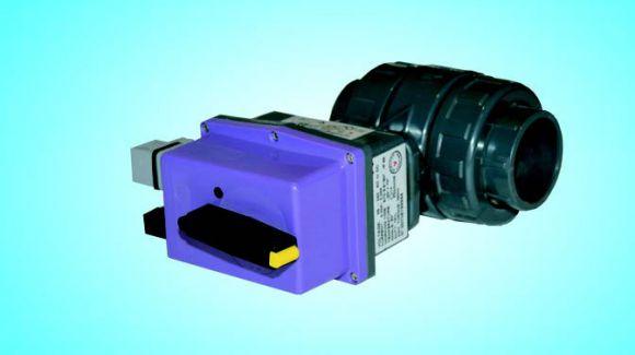Вентиль с электроприводом 220 V д. 63 (1272063)