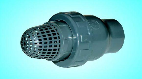 Обратный клапан с фильтром грубой очистки д.63-2'' (1410063)