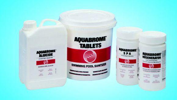 Дезинфекция воды с помощью брома Аквабром альгицид (3 л)