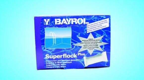 Коагулянт для дезинфекции воды Суперфлок Плюс (1 кг)